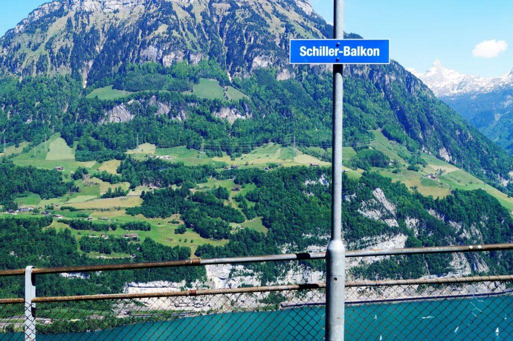 Vom Schiller-Balkon auf dem Seelisberg lässt sich fast der ganze Vierwaldstättersee überblicken